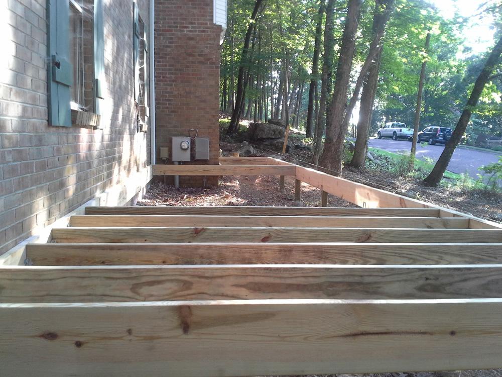 2 Level Front Deck Huntsville Home Repairs Fences